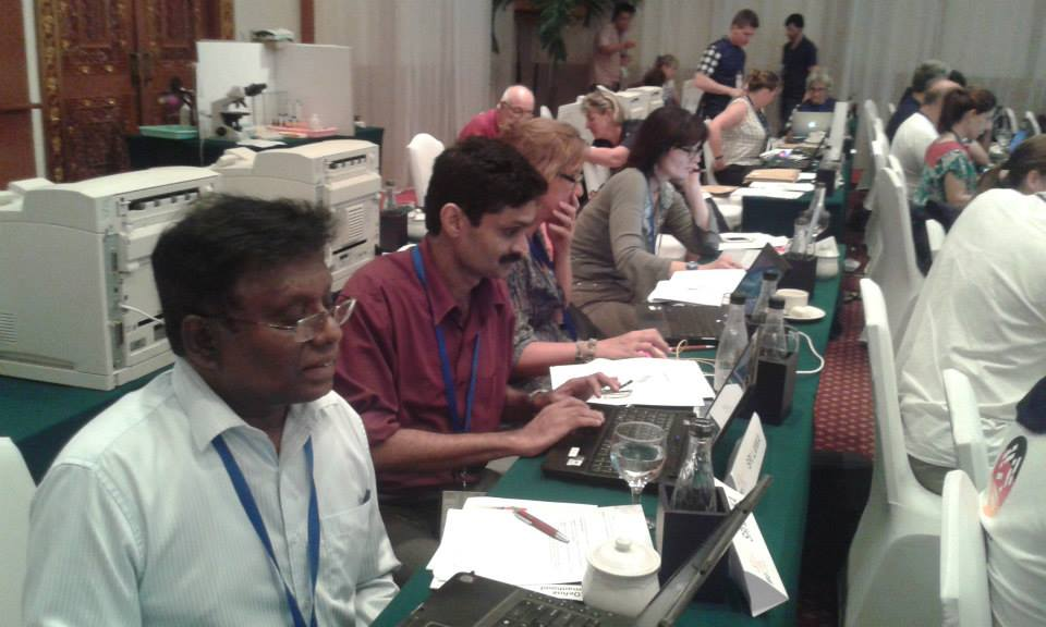 Prof Hiran and Prof Wijeyaratne, Jury Members