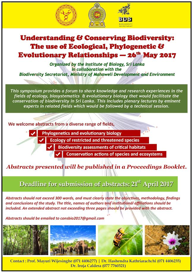 The use of Ecological, Phylogenetic and Evolutionary Relationships