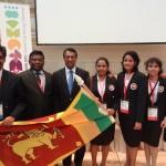 Prof Hiran Amarasekera, Prof Jayantha Wijerathna, Ambassador Mr. Sarath Kongahage, Sara Kapukotuwa, Melanie Senevirathna, Shaamali Gunawardena and Wasana Kodithuwakku